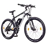 "NCM Prague E-Bike Mountainbike, 250W, 36V 13Ah 468Wh Li-Ion Akku, 26'/27,5""/29' Zoll (27,5' Schwarz)"
