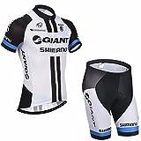 logas Sommer-Männer Radtrikot Set kurze Hülsen-Fahrrad Jersey und 3D Padded Shorts Quick Dry Sport