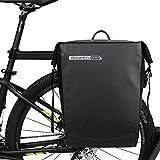 DCCN Fahrradtasche Wasserdichte Satteltasche Fahrrad Gepäckträgertasche Super Hinter Koffer 20L