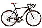 Rennrad 28'' Euphoria schwarz Alu-Rahmen RH 58 cm KS Cycling