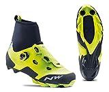Northwave Raptor GTX Winter MTB Fahrrad Schuhe gelb/schwarz 2019: Größe: 43