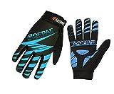 Lerway Winter MTB Handschuhe Gepolstert Race Fahrrad Handschuhe Sporthandschuhe für Radsport ,Outdoor Sport Mountainbike Damen und Herren Gloves (L, Blau)
