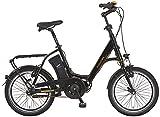 Prophete E-Bike Alu-Kompaktrad, Navigator Compact Caravan 20', AEG EcoDrive C Mittelmotor, 36V, 250 W, Max. 50 NM, Samsung SideClick Lithium-Ionen, 36V,10,4 AH (374Wh), 46cm RH