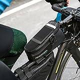 skysc ROSWHEEL Attack Serie Wasserdicht Fahrrad Satteltasche Fahrrad Tasche vorne Rahmen