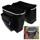 Doppel Gepäckträger Tasche Gepäcktasche Mountainbike Fahrradtasche Packtasche