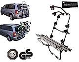 Element Trade Fahrradträger Heckklappe 3 Fahrräder/Bici Ok Van 3 - Inkl. Adapter Sticker