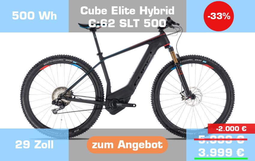 Cube Elity Hybrid C:62 SLT 500