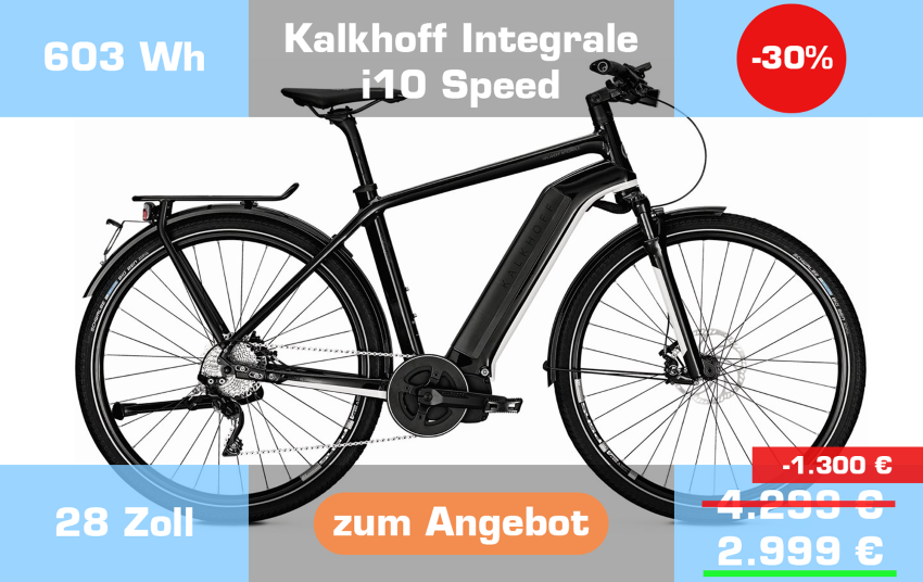 Kalkhoff Integrale i10 Speed
