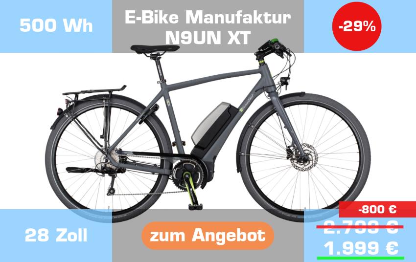 E-Bike Manufaktur N9UN XT