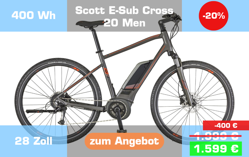 Scott E-Sub Cross 20 Men